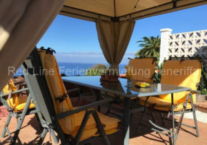 Teneriffa Luxus-Ferienhaus. Ferienhaus mit Pool und Whirlpool in La Palmita