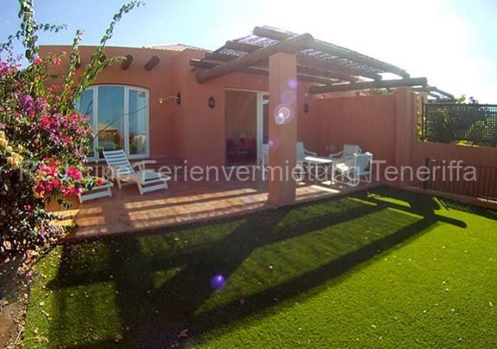 Teneriffa Luxus-Ferienhaus. La Caleta / Costa Adeje moderne Luxus-Ferienvilla mit beheiz. Pool nahe Golfplatz