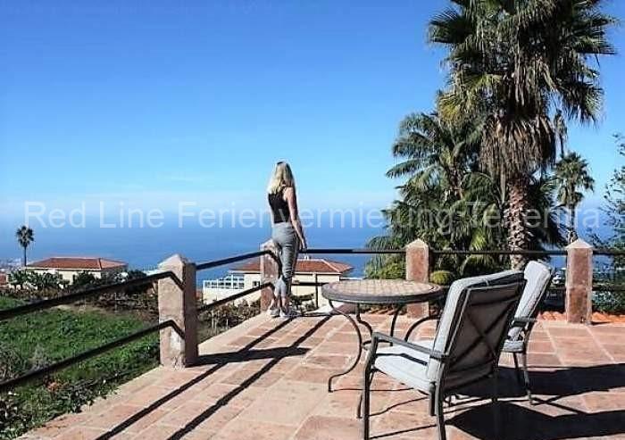Teneriffa. Gut ausgestattetes Luxus-Ferienhaus in Santa Ursula mit tollem Ausblick.
