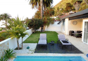 Teneriffa Luxus-Ferienhaus. Komfortables Luxus-Ferienhaus mit Pool und Meerblick in La Orotava