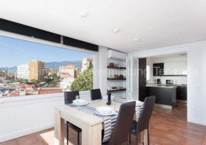 Teneriffa. Exklusive Luxus-Ferienwohnung mit Pool, Meerblick und Terrasse in Candelaria