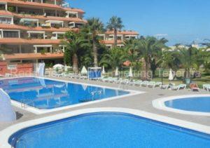 Teneriffa. Preiswerte private Ferienwohnung, strandnah mit Terrasse an der Playa Jardin