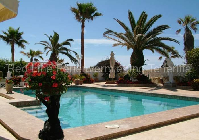 Preiswerte private Ferienwohnung in Privathaus mit Terrasse und Grill in Poris de Abona
