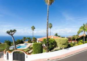Luxus-Ferienhaus Teneriffa - Schöne Villa mit beheizbarem Pool in Puntillo del Sol