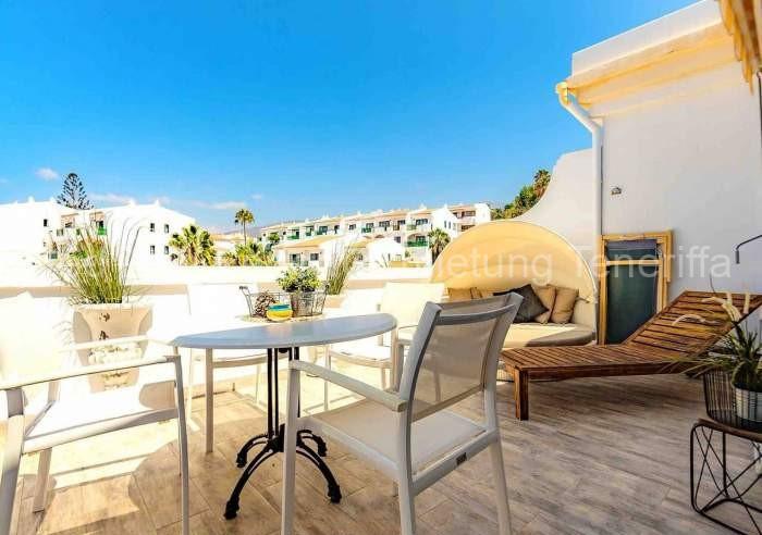 Teneriffa Luxus-Ferienwohnung mit hochwertiger Einrichtung und Poolzugang