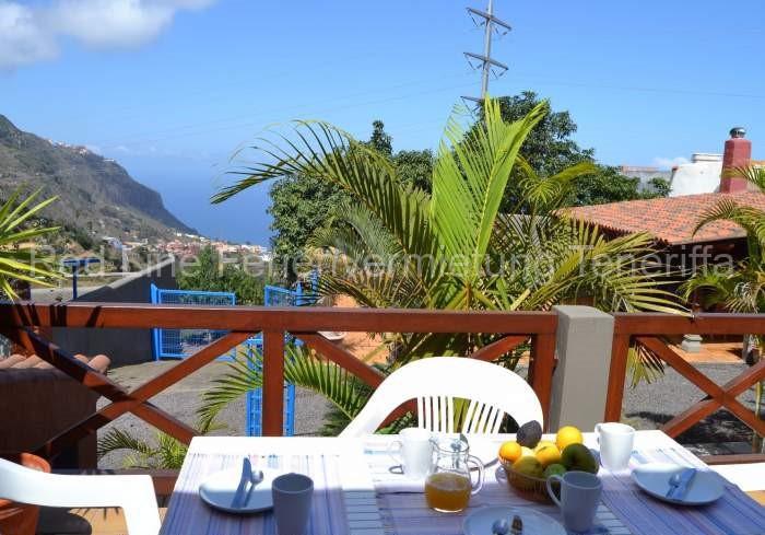 Schöne Ferienwohnung bei Los Realejos mit Terrasse und tollem Blick